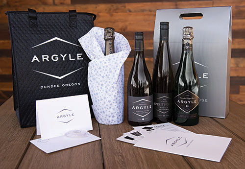 Argyle wine club gift package