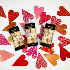 Moonstruck chocolate sets and hearts