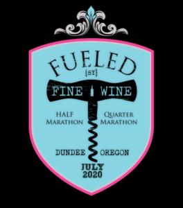 Fueled by Fine Wine Logo