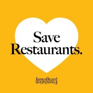 Save Restaurants, JBF Relief Fund