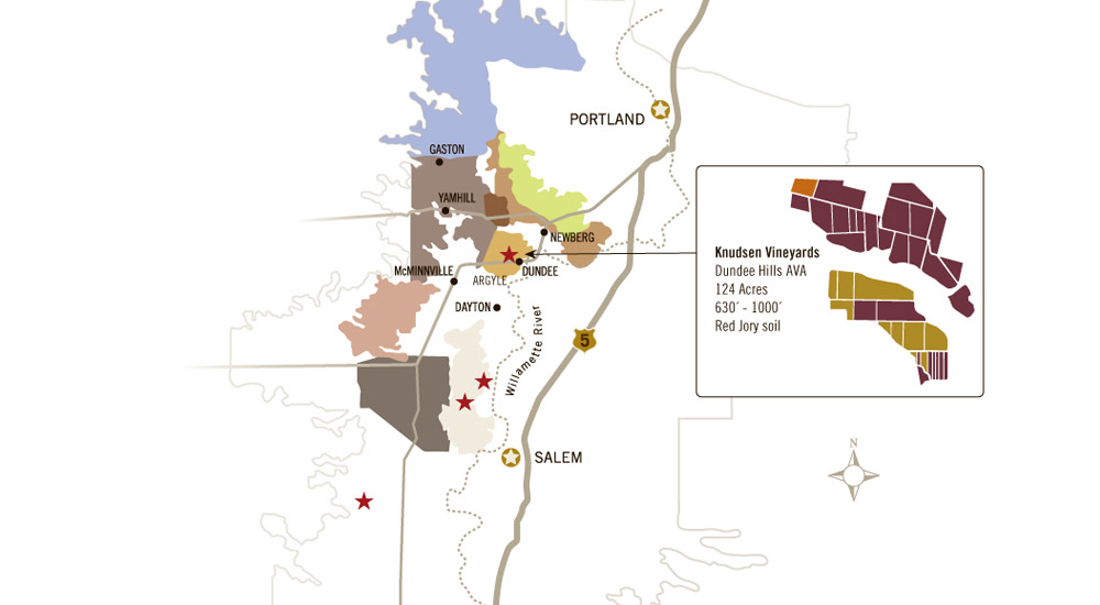 Knudsen Vineyard Map