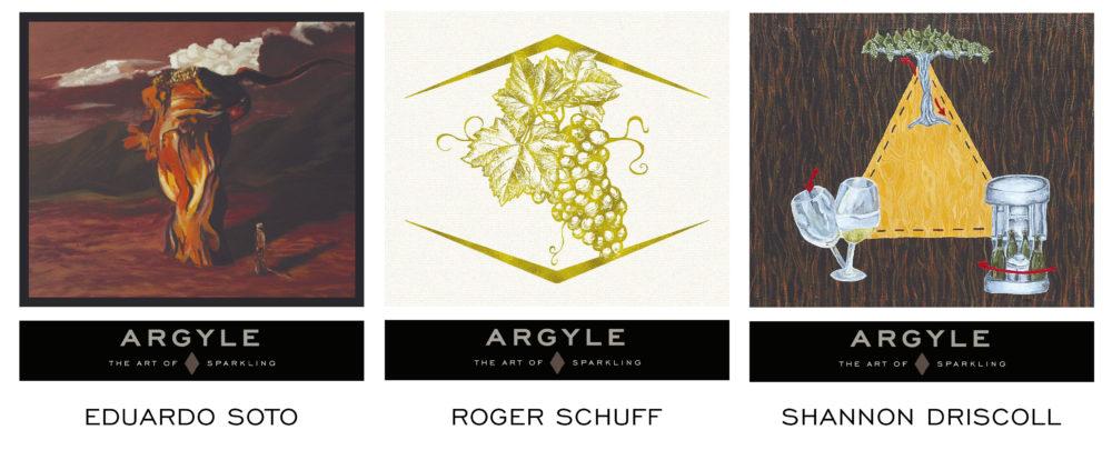 Art of Sparkling Label Images